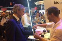 BIOWATCH SA pitching Bernard Arnault today at Vivatech in Paris!