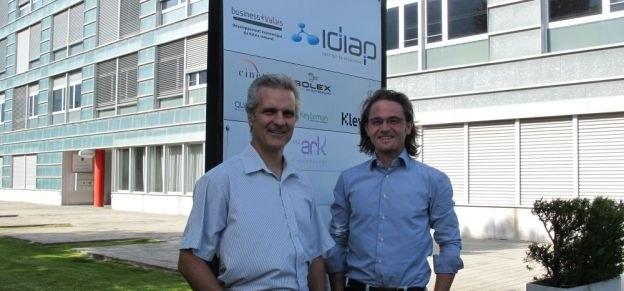 François Foglia et Frédéric Boson font la promotion de l'International Create Challenge.